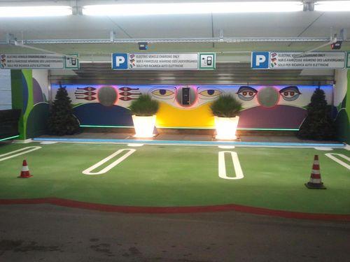 Elektro ladestation im central parking bozen - Lade bz ...